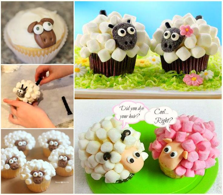 "<input class=""jpibfi"" type=""hidden"" >These extremely simple sheep cupcakes are so adorable ! They are made from frosted white icing and marshmallows then iced with a chubby sheep face.These are so simple and fun to make that you can enlist your kids to help! They are perfect for baby shower or birthday party ! Ingredients -- Cupcakes: 1 (15.25-…"