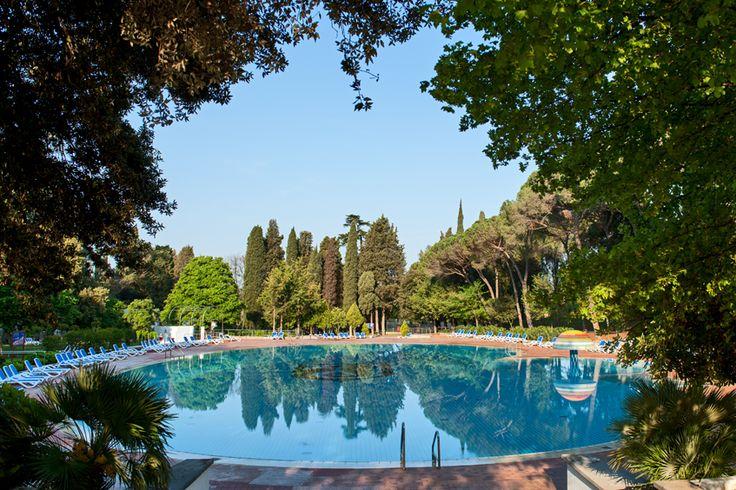 Outdoor swimming pool@Hotel Eden in Istria, Croatia.    http://www.maistra.com/Accommodation/Hotels/Eden_Rovinj
