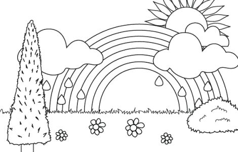 Rainbow Brite Outside Coloring Pages | Teaching Ideas ...