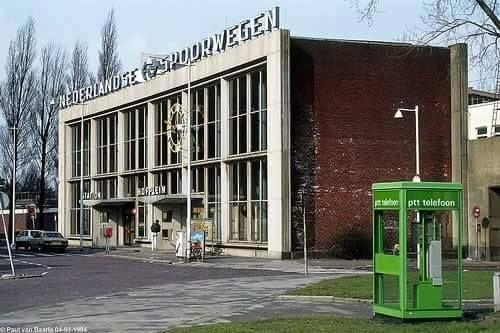 Rotterdam - Station Hofplein. Inmiddels ook al verleden tijd.