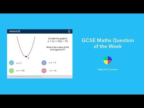 Turning Points of Quadratic Graphs: GCSE Maths Question of the Week - YouTube