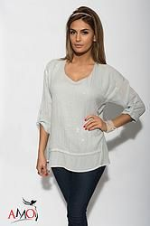 Michaela Raindrop Seq Top
