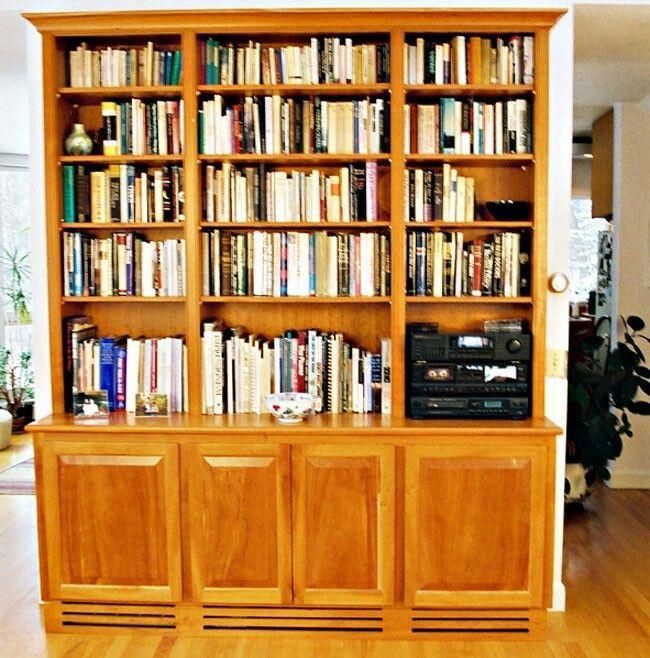 Kitchen Cabinets Over Baseboard Heat: 12 Best Bookshelves Images On Pinterest