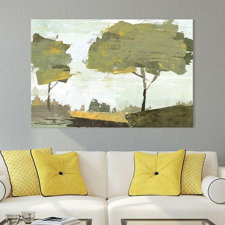 Artissimo Designs October Sun Canvas Wall Art, Multicolor