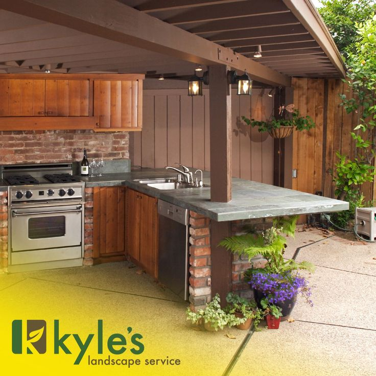 Cool Home Renovation Ideas: We Do Outdoor Kitchens At Kyle's Landscape Service