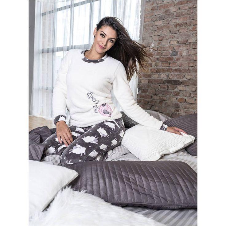 Poppy pizsama Nice Bárány s.szürke-ekrü