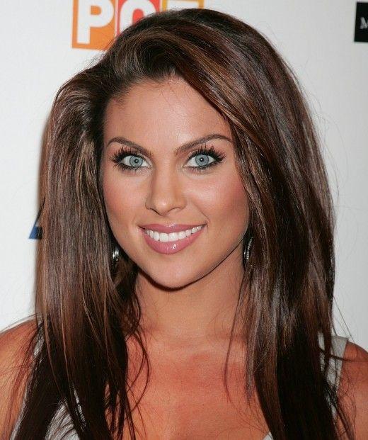 Makeup For Tan Skin Brown Hair And Blue Eyes Hair Pinterest