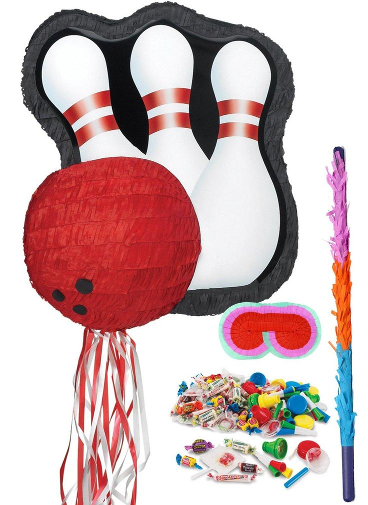 Bowling Pinata Kit from BirthdayExpress.com