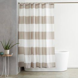 We've made finding bathroom shower curtains a breeze. From elegant fabric shower curtains to kids shower curtains, you'll find what you're looking for here!