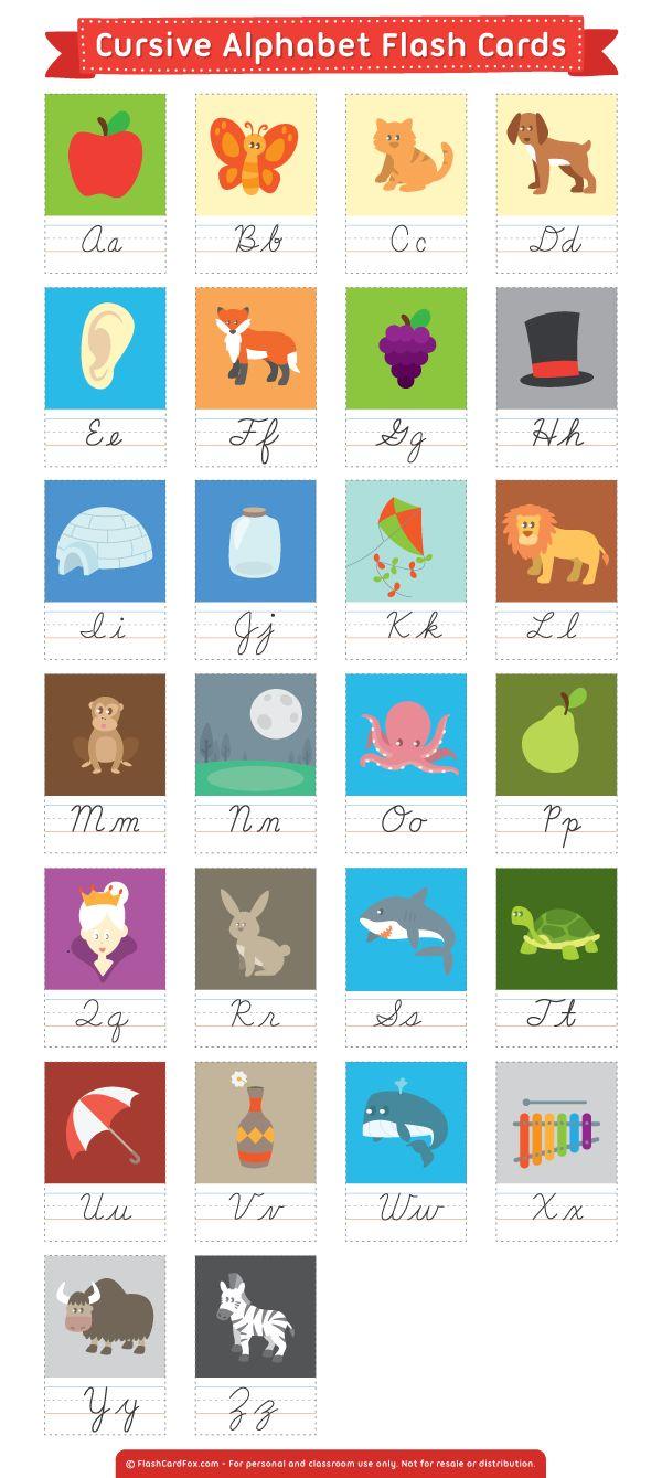 25+ best ideas about Cursive alphabet on Pinterest   Cursive fonts ...
