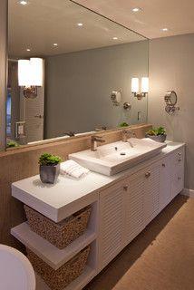 Sustainably Beach Modern - contemporary - bathroom - san diego - by KW Designs