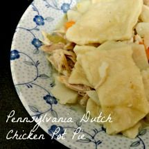 Blog post at The PinterTest Kitchen : If you think pot pie is a baked vegetable and meat dish topped with a pie-like crust, you're wrong. Sorry.    Hehe, just kidding. Where I gr[..]