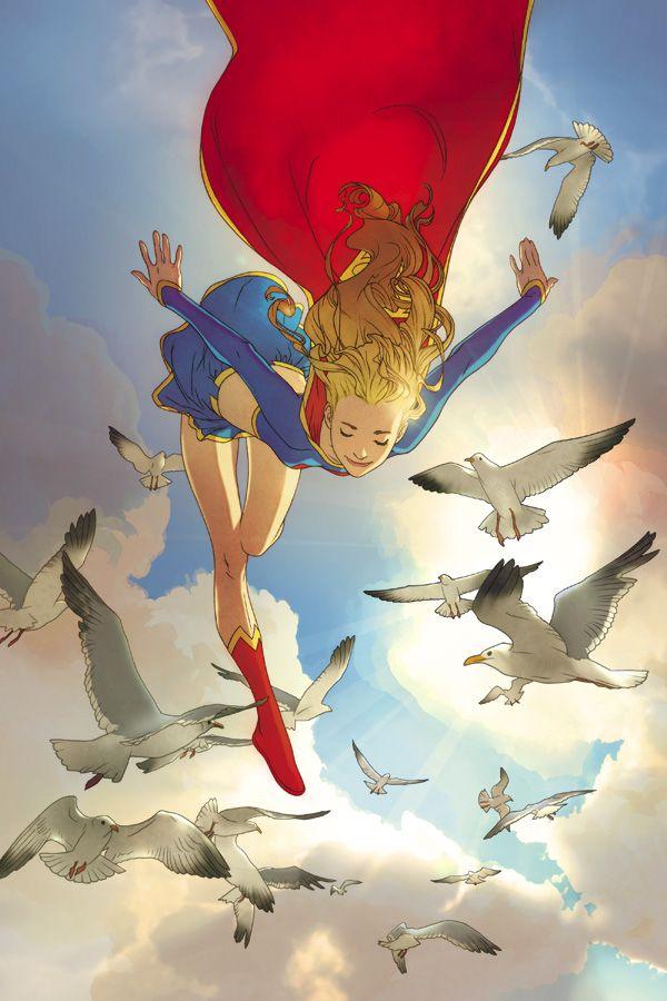 #Supergirl #Fan #Art. By: Joshua Middleton.  AWESOMENESS!!!   [THANK U 4 PINNING!!]