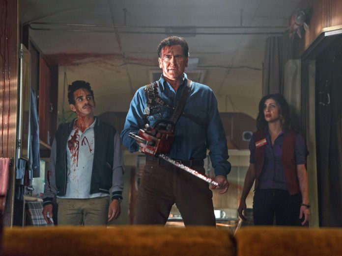 """ASH V. EVIL DEAD"" SEASON THREE (STARZ) -  TV shows that are coming back for another season  -  April 28, 2017"