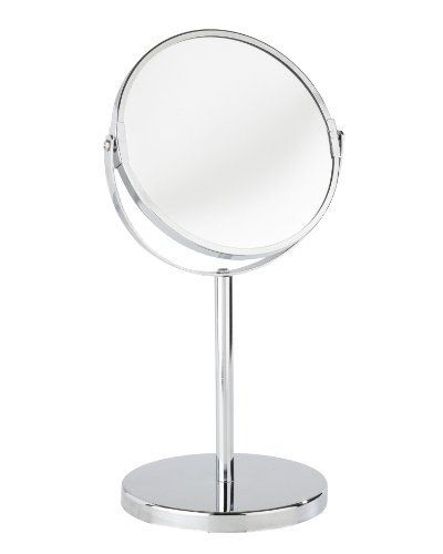 Wenko 16892100a miroir cosmetique sur pied assisi for Best buy miroir