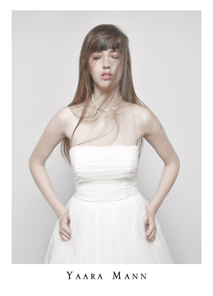 """Chloe"" wedding dress from Yaara Mann's collection 2014 www.yaaramann.com"