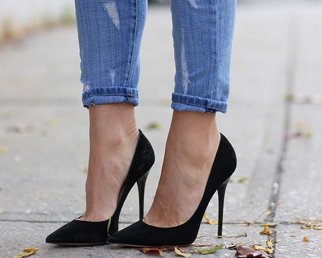 EVERY woman needs a pair of black stilettos, every woman. #basics #beauty #heels - Jimmy Choos | Flickr - Photo Sharing!