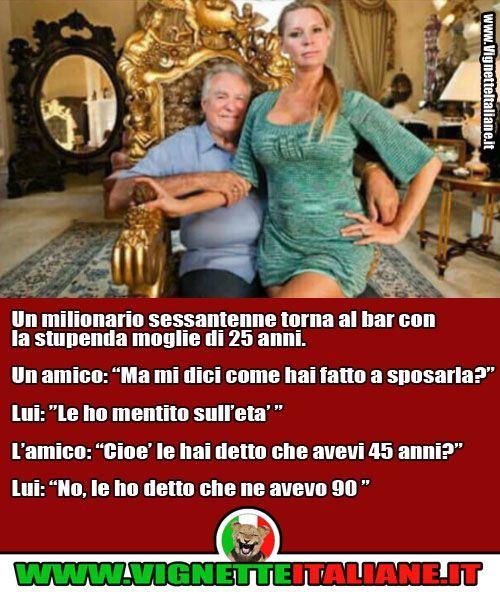 * Il milionario (www.VignetteItaliane.it)