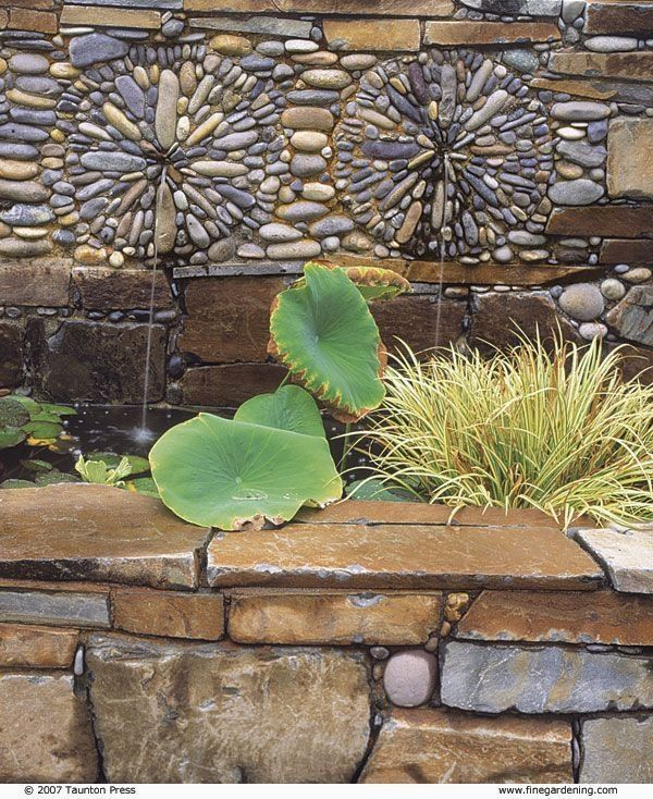 Make edging, stepping stones, or even a small patio with