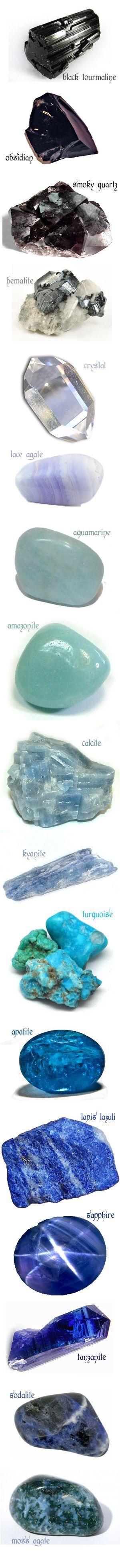 Le Sfumature dei Cristalli e Gemme. Splende.
