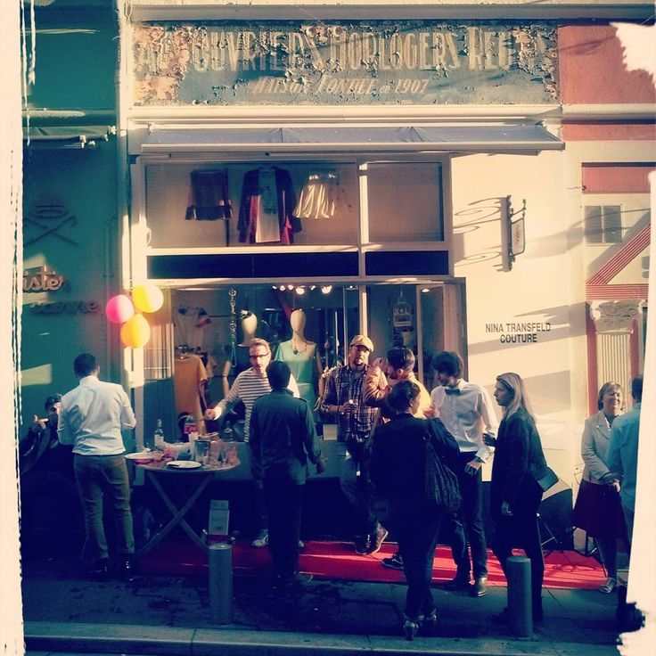 Inauguration de la boutique Nina Transfeld Couture Samedi 30 Avril :-)  #fashion #mode #Nice06 #frenchriviera #cotedazur #followyourdreams #redcarpet #grandopening #inauguration #vieuxNice #shopping #boutique #ninatransfeldcouture