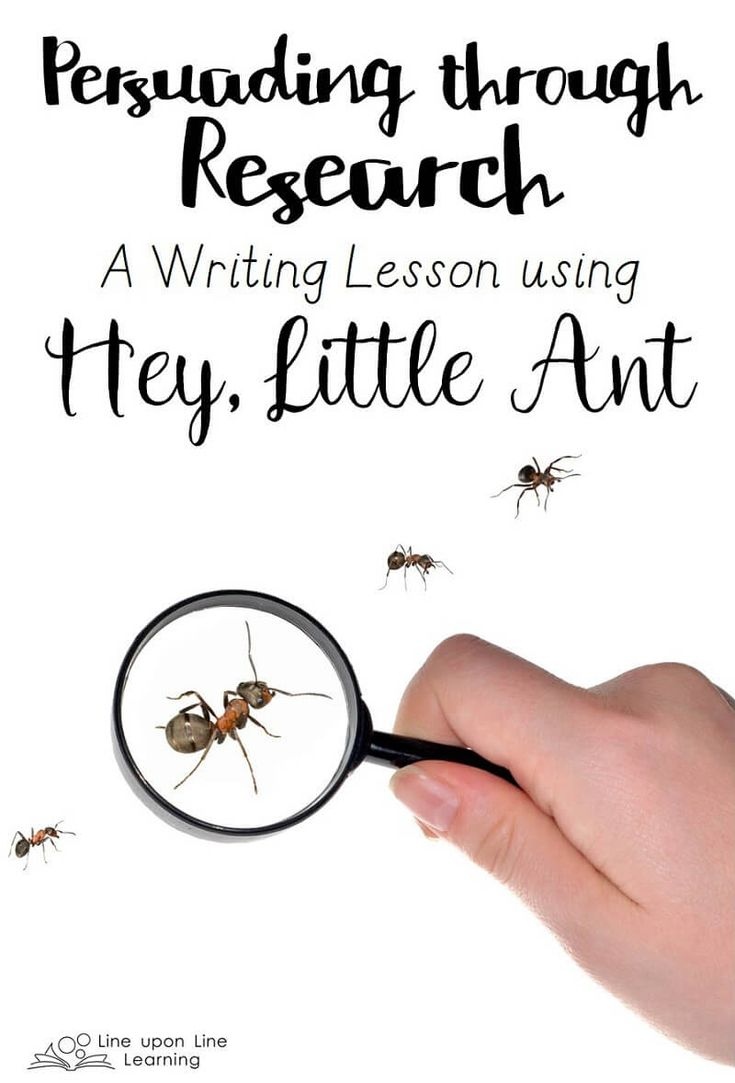 437 best k 5 picture book lesson ideas images on pinterest persuading with research a writing lesson based on hey little ant pooptronica Choice Image