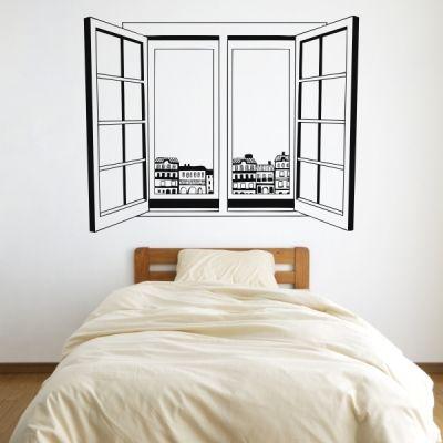 Vinilo decorativo ventana