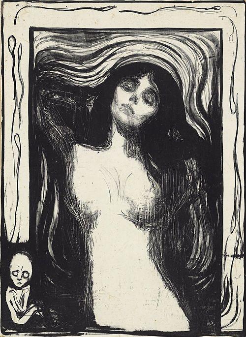 Edvard Munch (1863-1944) Madonna