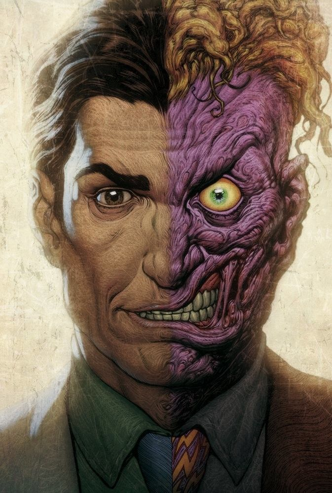 17 Best Images About DC's Villain: Two Face On Pinterest
