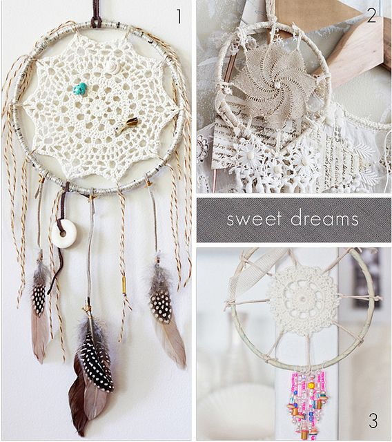 What better way to show respect and homage to the rich traditions of a massacred and oppressed group of people than by jamming one of your grandmother's moldy old doileys into a hoop and calling it a dream catcher?