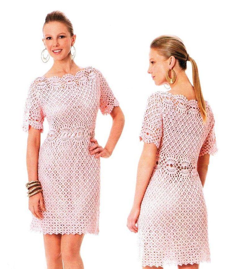 Crochet vestido de fiesta de patrón patrón por OnlyFavoritePATTERNs