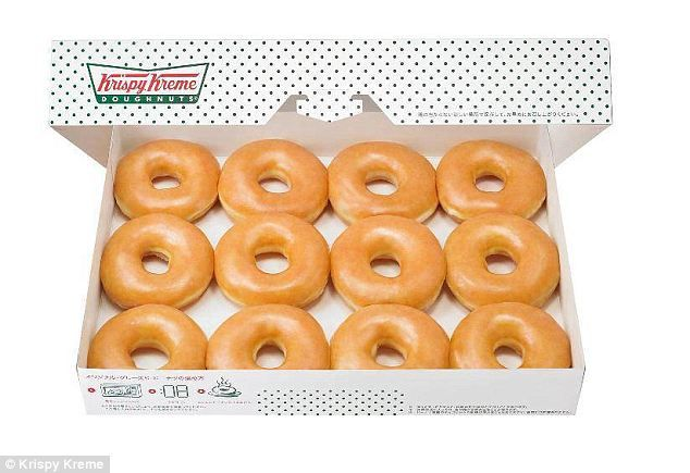 Sweet: Golden brown and irresistible Krispy Kreme doughnuts are a sugary treat probably best eaten in moderation. But other products that se...