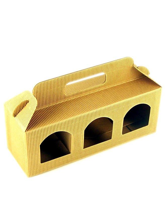 Buy Gift Box 3 Jar Short [12] | Gift Packaging Ideas from Jam Jar Shop