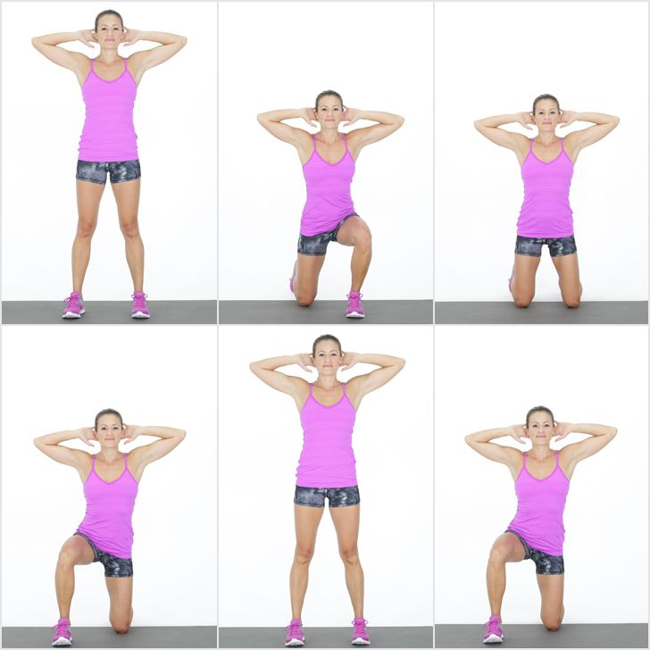 This move is tough but it is so worth the sweat and struggle. A set of surrenders strengthens your legs, tones your butt, and works your core.