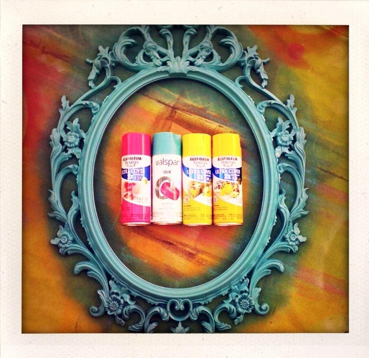 The 25 best Spray paint frames ideas on Pinterest