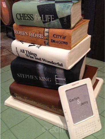 Book Shaped Cake Images : Cakes shaped like books Let them eat cake Pinterest