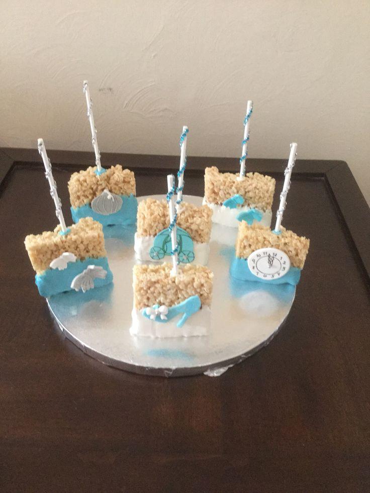 Cinderella Rice Krispy Treats Cake Pops And Treats By