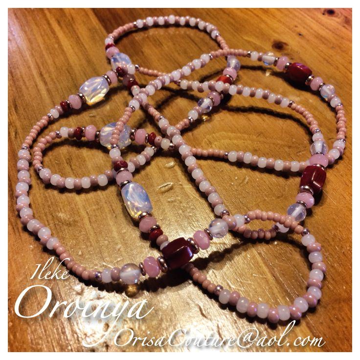 Ileke Oroina For custom pieces and/or pricing information send an e-mail to OrisaCouture@aol.com #ileke #oroina #oroiña #oroinya