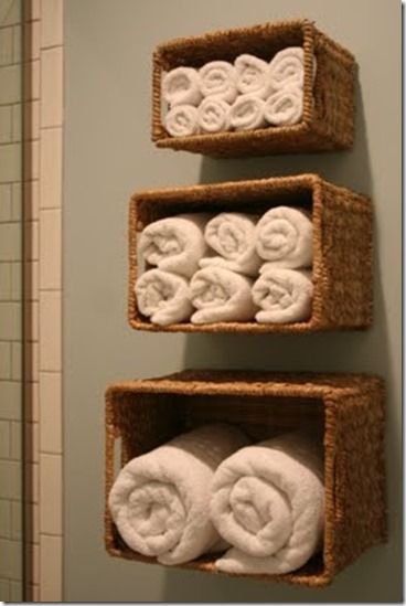 Towel baskets