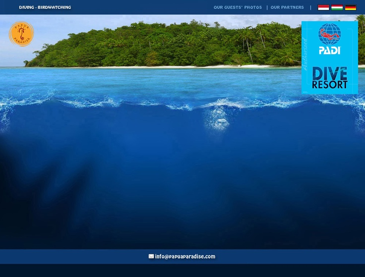Papua Paradise base in Raja Ampat Indonesia one of the best places to dive