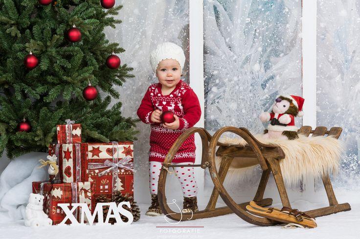 Kinder Kerst Fotoshoot Isabel