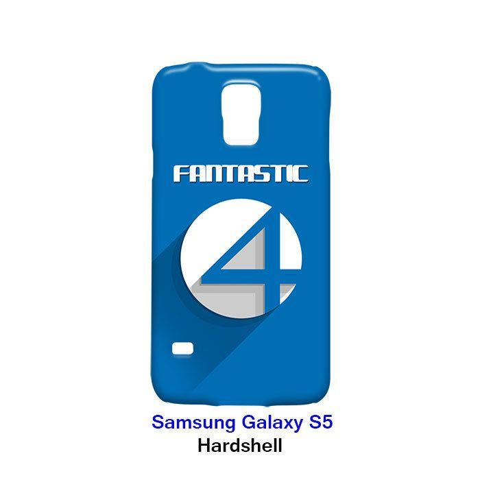 Fantastic Four Logo Superhero Samsung Galaxy S5 Hardshell Case