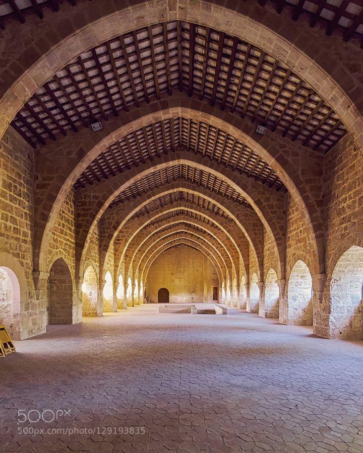 Dormitorio de los monjes - Real Monasterio de Santa María de Santes Creus by neobit #Architecture #fadighanemmd