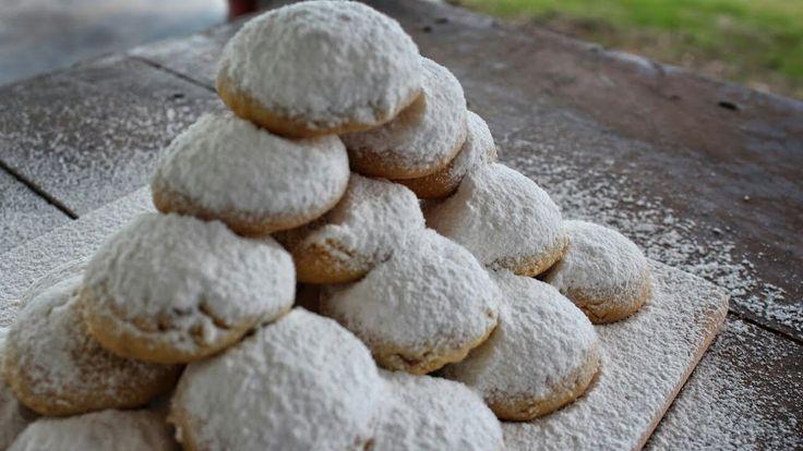 Κουραμπιέδες που λιώνουν στο στόμα (Νηστίσιμοι) - Vegan Cookies