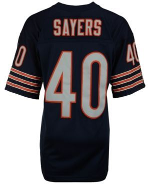 Mitchell & Ness Men's Gale Sayers Chicago Bears Replica Throwback Jersey  - Blue XL