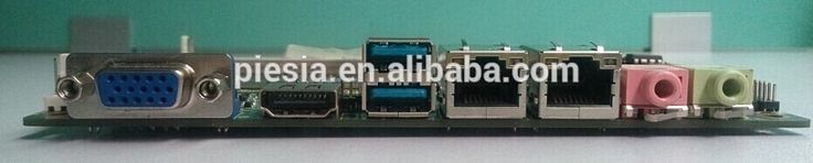 thin client motherboard firewall mainboard with G4 Haswell i3 processors
