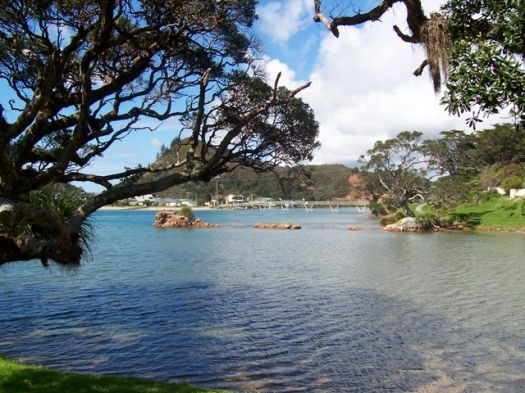 Pataua Estuary, Northland, New Zealand. We had a cottage with this view, and one day as a boy I set the sails of my beautiful toy yacht to sail out the entrance you can see and sail away into the Pacific Ocean on adventures I shared in my dreams and imagination into my adult life.