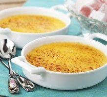 Recette - Crème brûlée à la vanille au Thermomix - Notée 4.2/5 par les internautes