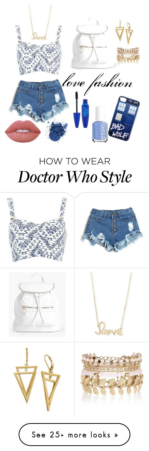"""fashion 1"" by violettepousset on Polyvore featuring River Island, Boohoo, Sydney Evan, Lime Crime, Maybelline and Essie"