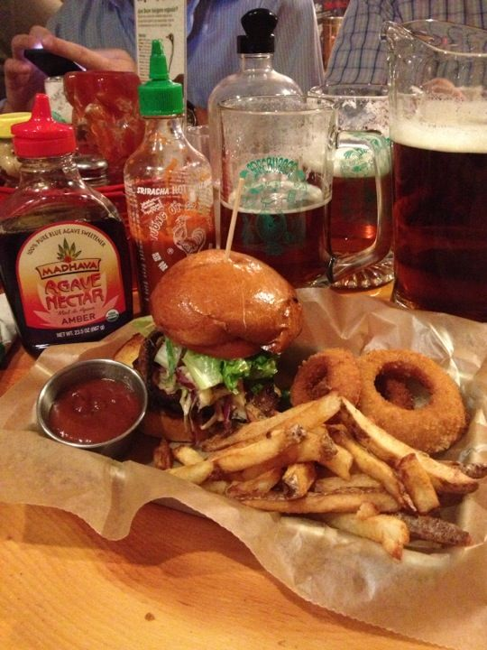 Elk, Bison, Ostrich, Lamb - you name it, they got it. Great brews to go with it. One of top 5 spots for a delicious, value burger!